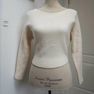 WILFRED Cream Sweater